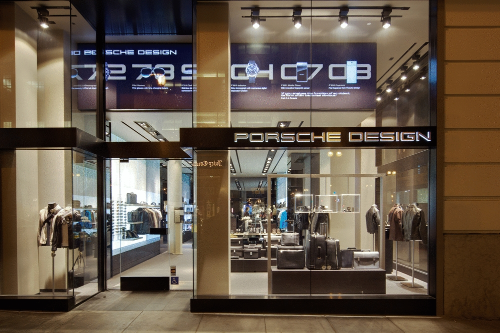 Porsche Design Opens Store In San Francisco Autoevolution
