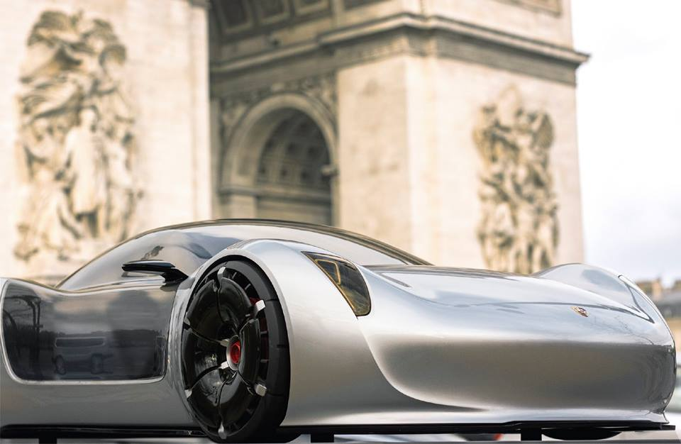 Porsche Electric Concept Car