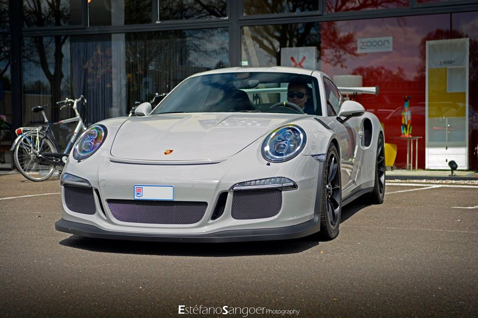 Porsche Exclusive 911 Gt3 Rs Comes In Fashion Grey