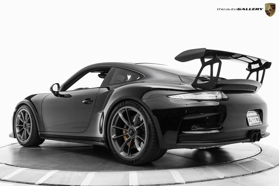 Porsche Exclusive Paint To Sample Black 911 Gt3 Rs For