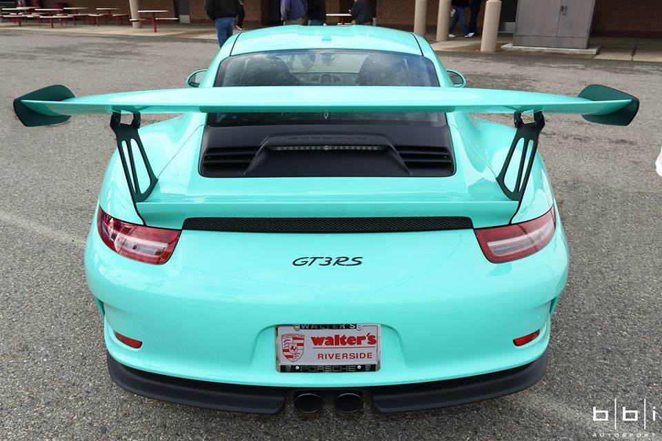 Porsche Exclusive Paint To Sample 911 Gt3 Rs Tiffany Blue
