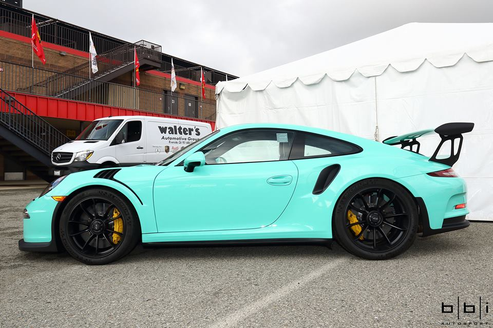 2016 Porsche Panamera Gts >> Porsche Exclusive Paint To Sample 911 GT3 RS, the Tiffany Blue Lookalike - autoevolution