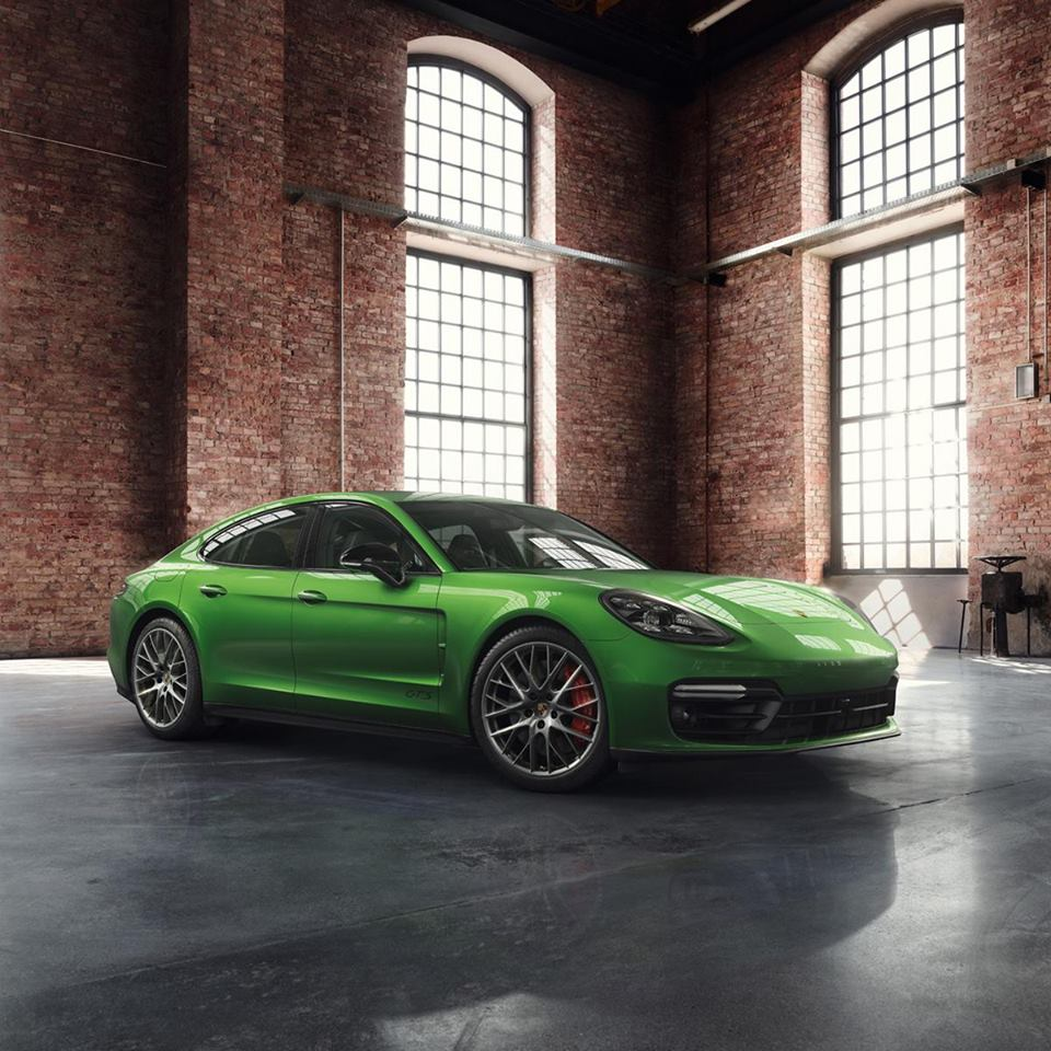 Porsche Exclusive Panamera Gts Looks Exotic In Mamba Green