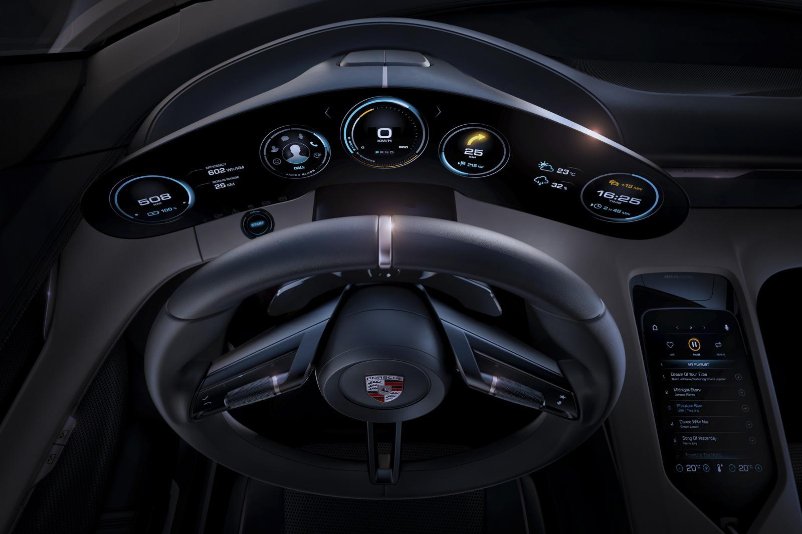 Porsche teases Taycan EV