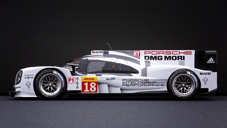 Porsche S 2015 Le Mans 2nd Generation 919 Racecar In 3