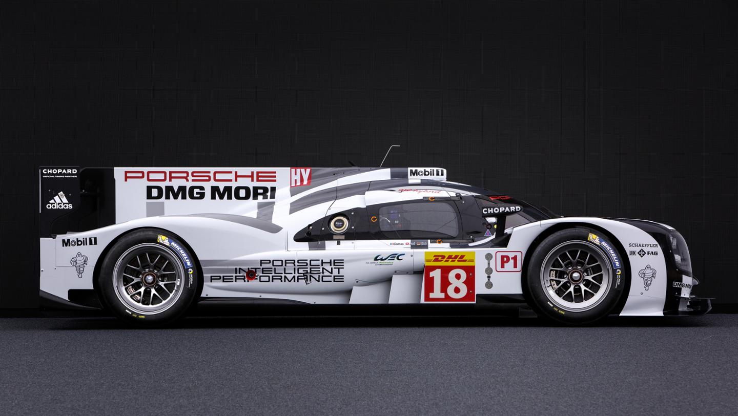 porsche 39 s 2015 le mans 2nd generation 919 racecar in 3. Black Bedroom Furniture Sets. Home Design Ideas