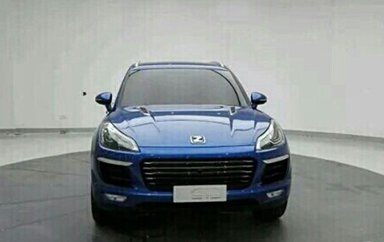 Porsche Macan Chinese Copycat: Zotye T700 - photo gallery
