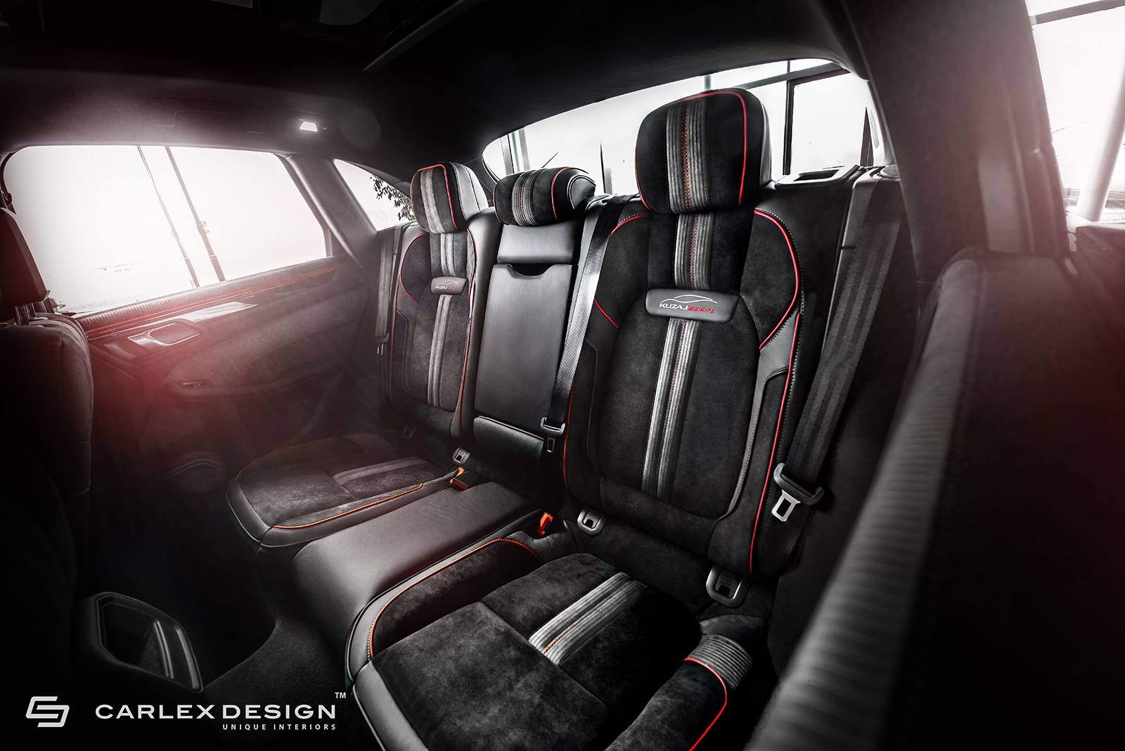 Porsche Macan Extreme Interior By Carlex Design: Rear Seats ...
