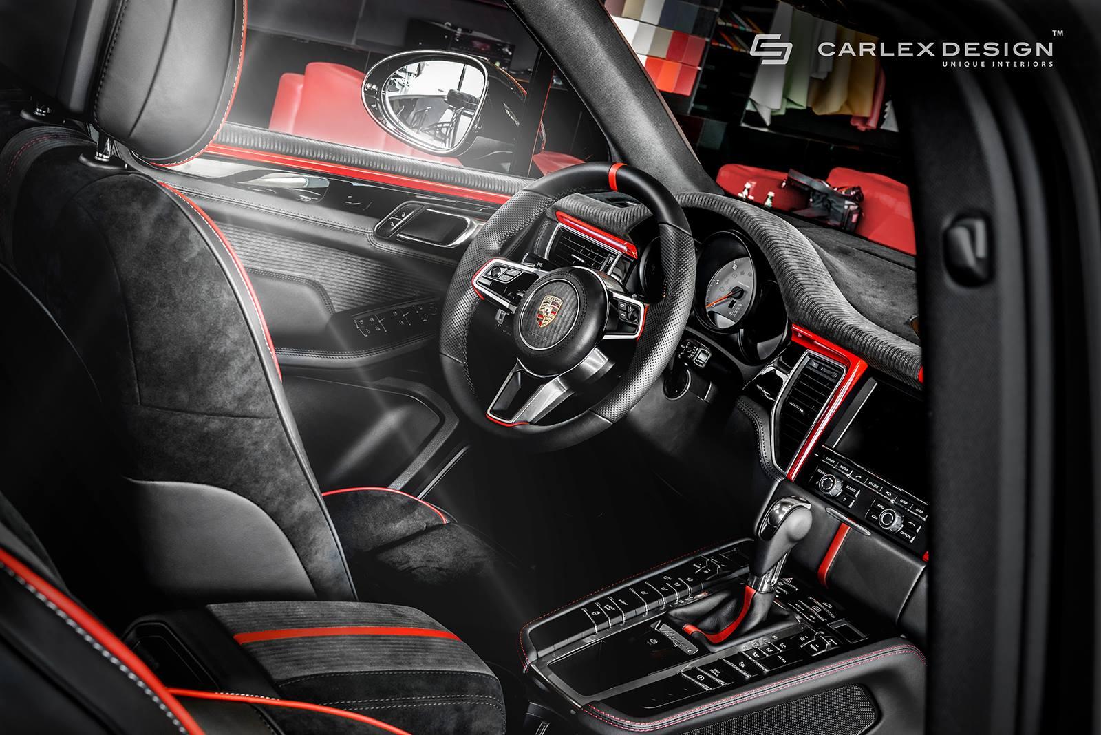 Car interior piping -  Porsche Macan Extreme Interior By Carlex Design