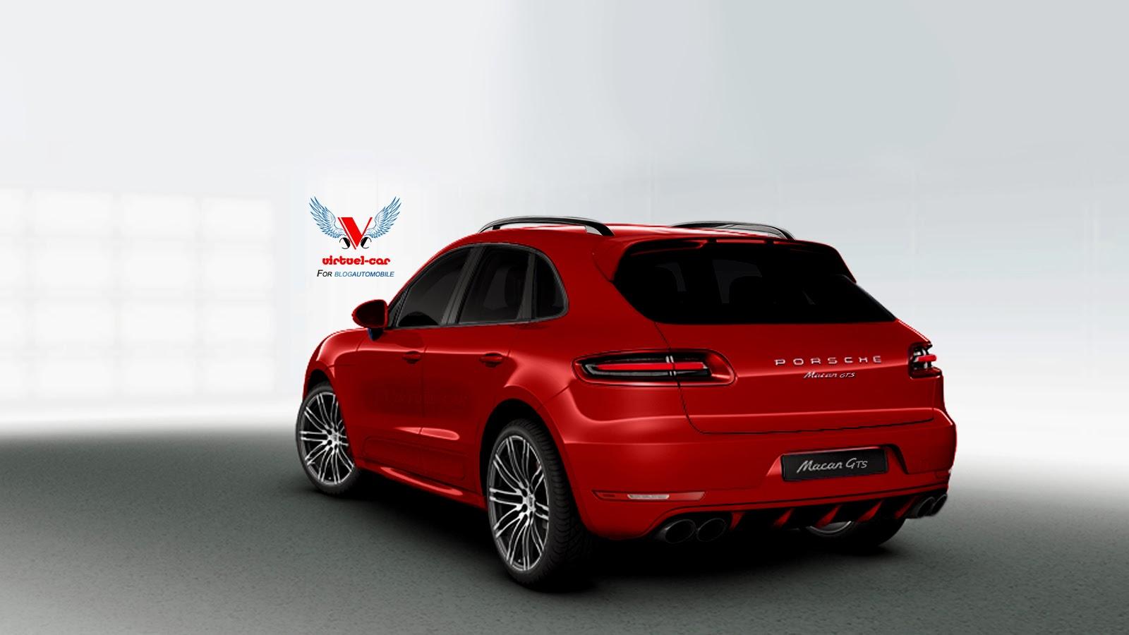 Porsche Macan Gts Rendered In Red Autoevolution