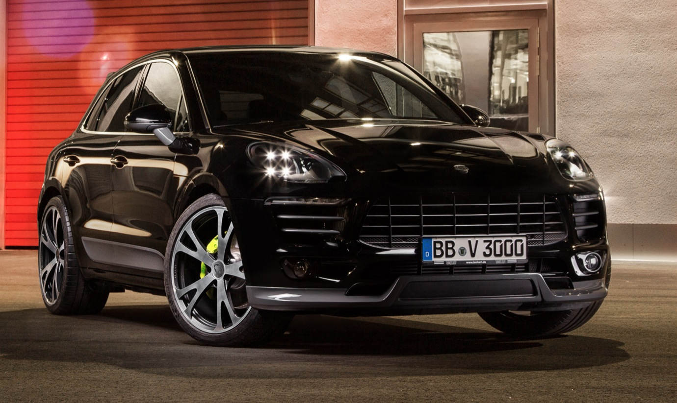 porsche macan turbo tuned to 450 hp by techart autoevolution. Black Bedroom Furniture Sets. Home Design Ideas