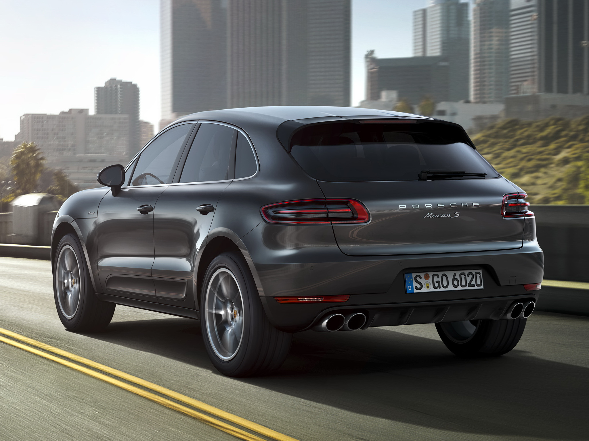 porsche macan v6 diesel model coming to america in 2015 autoevolution. Black Bedroom Furniture Sets. Home Design Ideas
