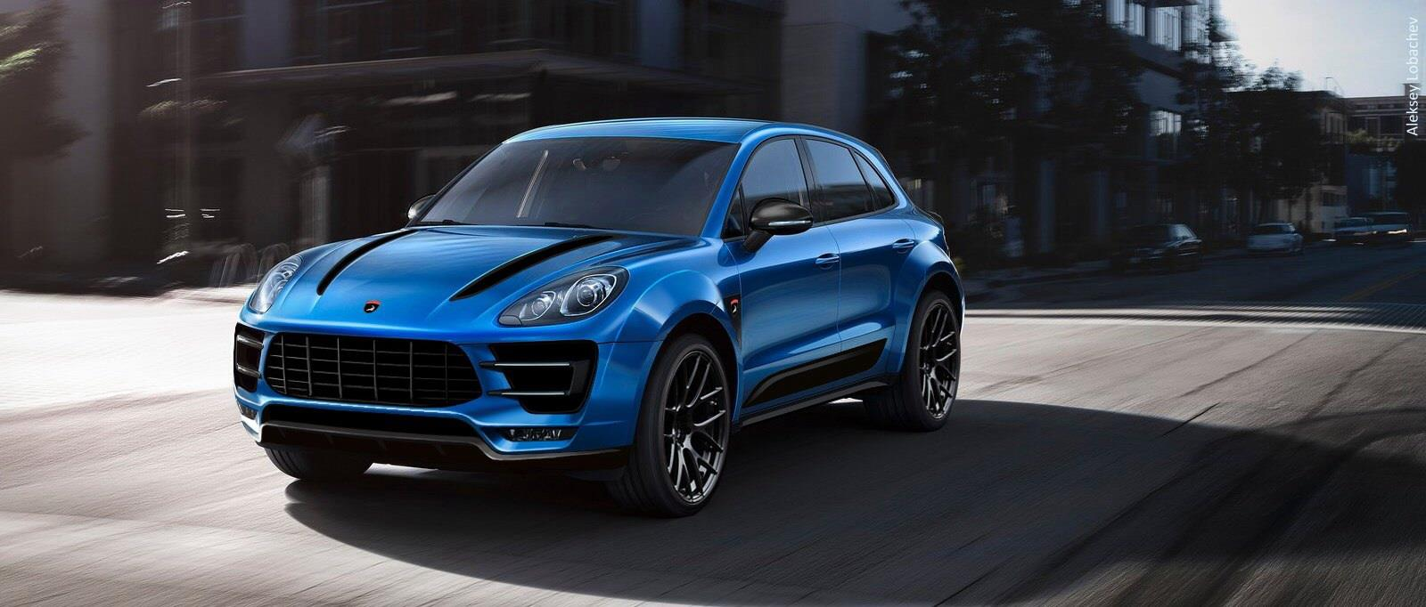Porsche Macan Wide Body Kit Already Being Developed By