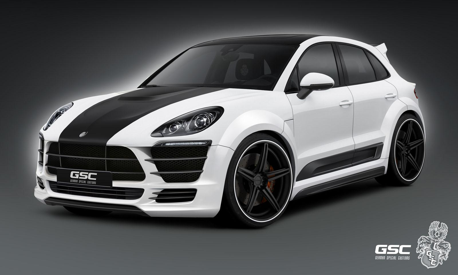 Porsche Macan Widebody Kit By German Special Customs