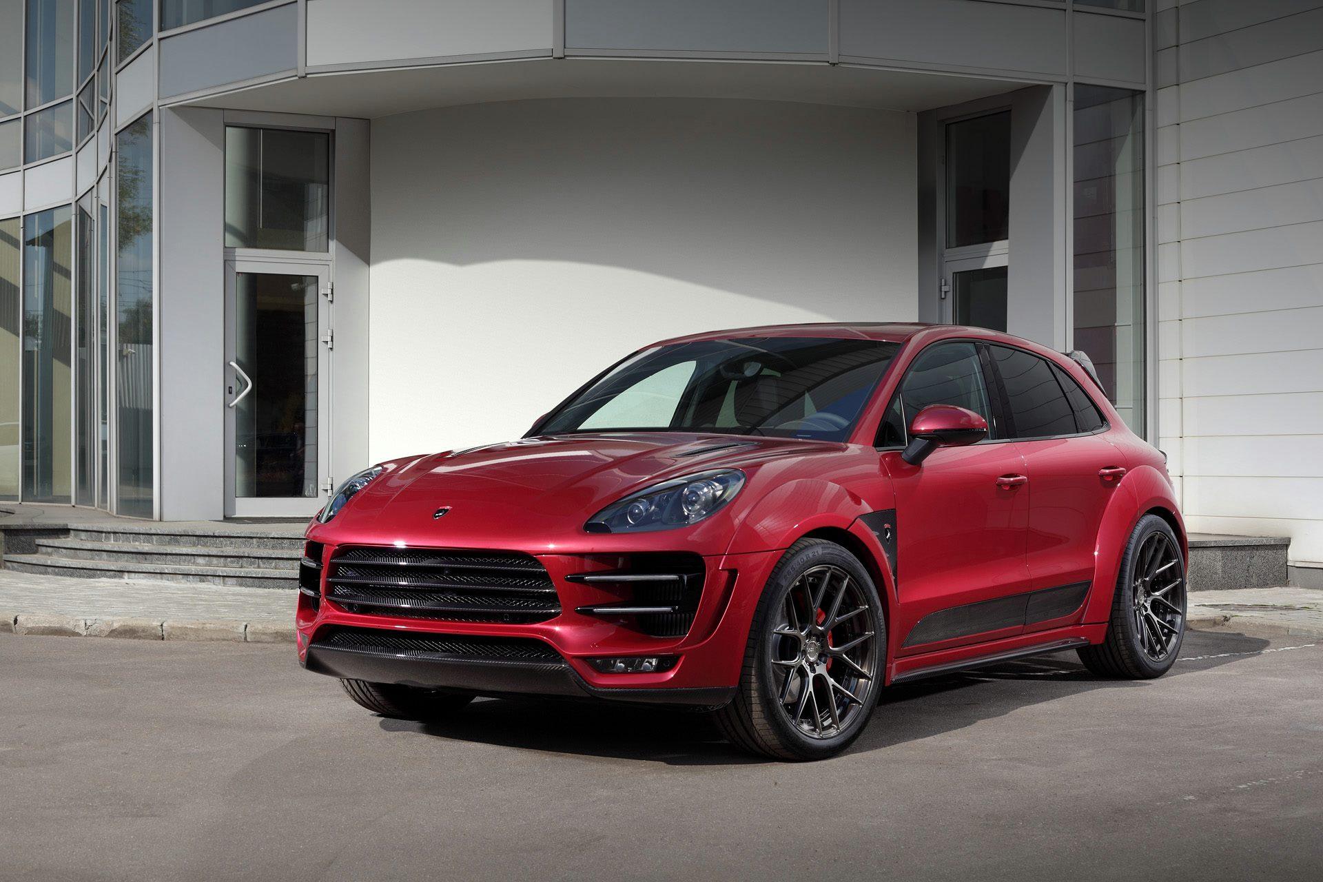 Porsche Mancan Ursa By Topcar Gets Cherry Red Paint And