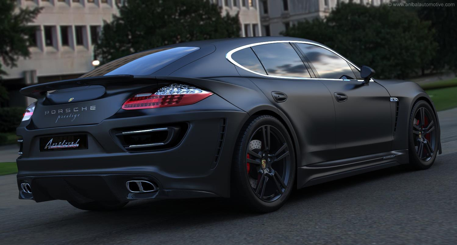 Porsche Panamera by Anibal Looks Like a 911 Four-Door ...