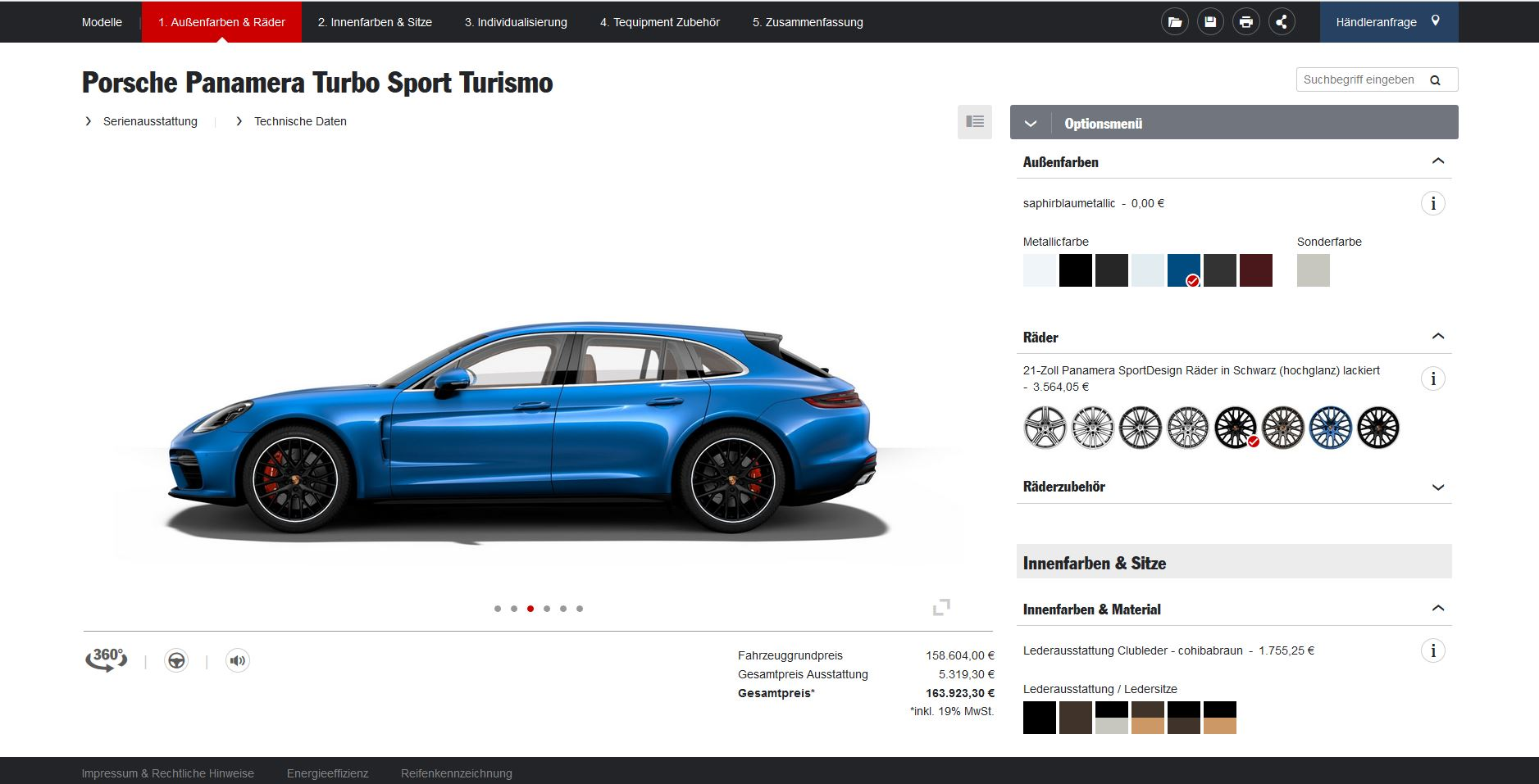 Porsche panamera sport turismo configurator launched autoevolution porsche panamera sport turismo configurator launched publicscrutiny Choice Image