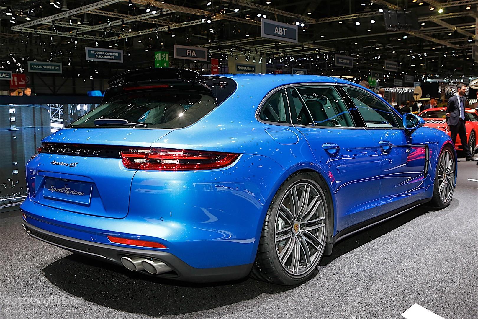 Porsche Panamera Sport Turismo Shows Up In Geneva Looks