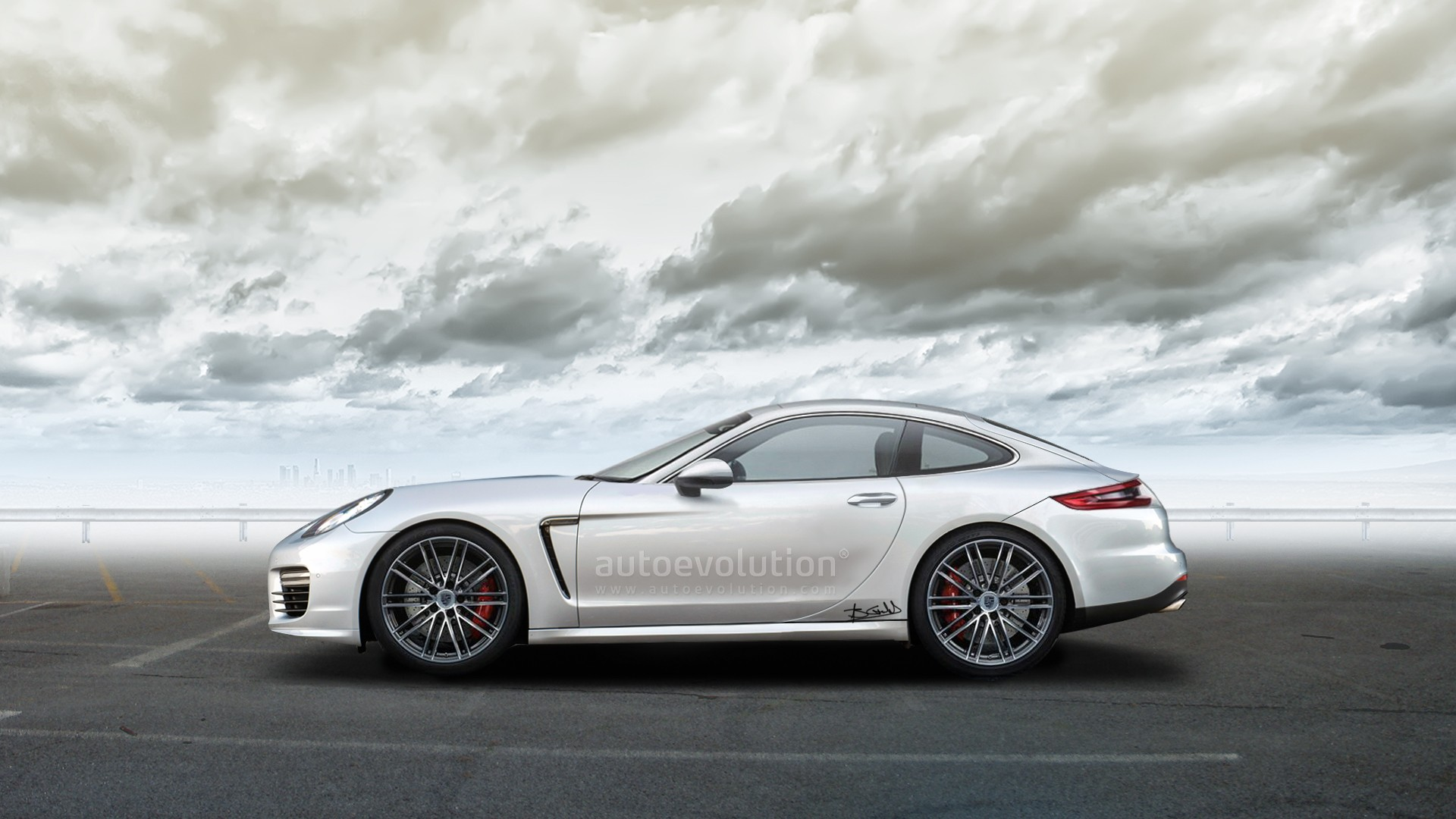 Porsche Panamera Tertre Rouge Coupe Is The 928 Revival You Ve Been Waiting For Autoevolution