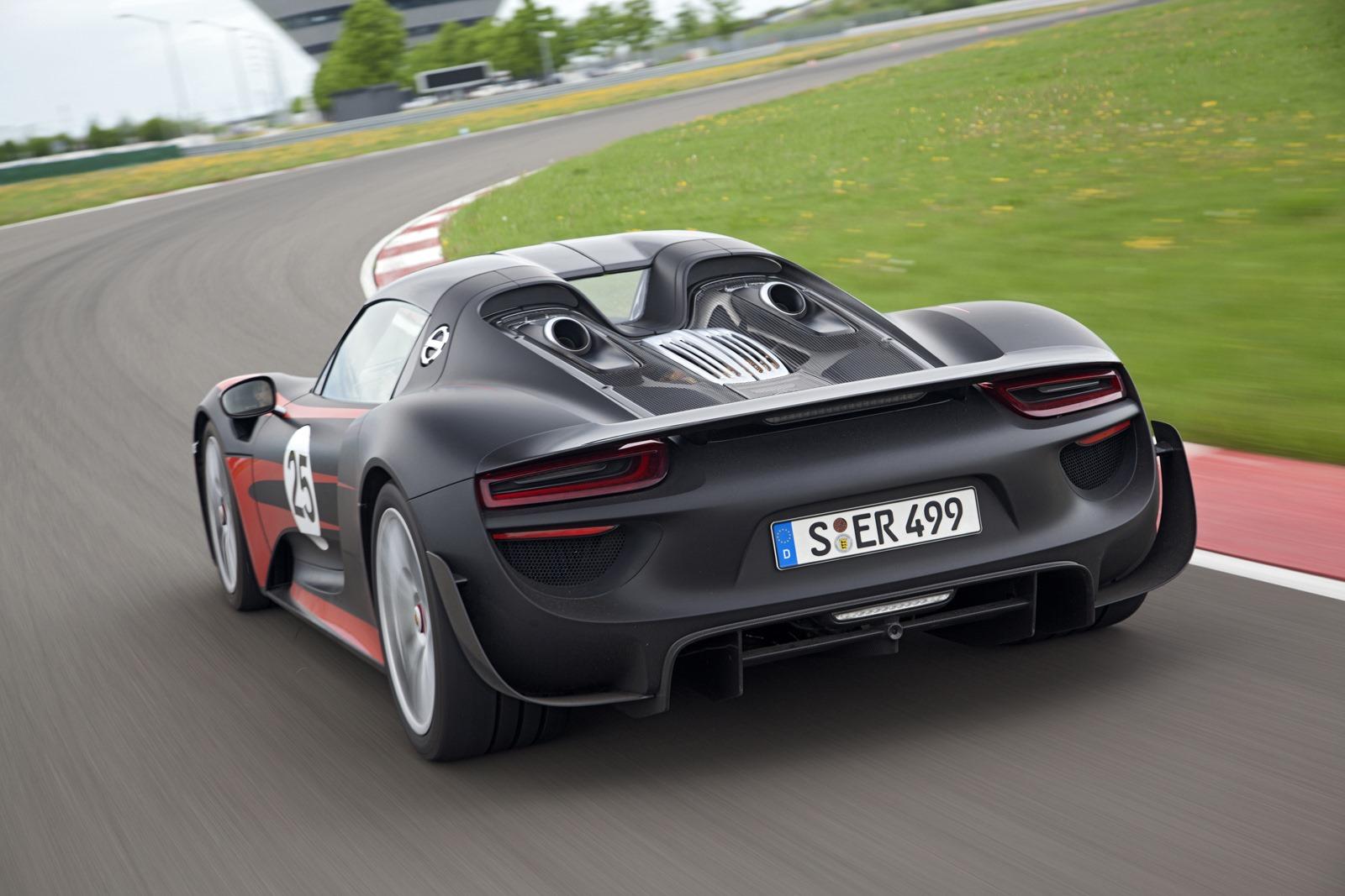 Porsche Releases New 918 Spyder Technical Details