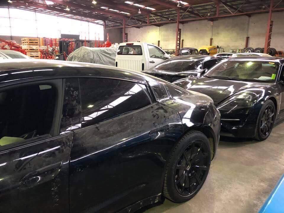 Porsche Taycan Interior Spied, Shows Massive Digital