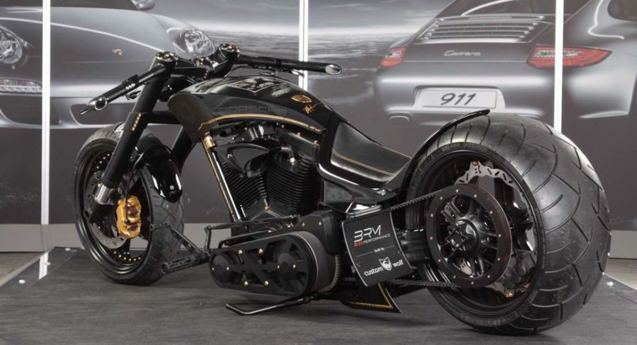 Porsche Tribute Motorcycle By CustomWolf Autoevolution