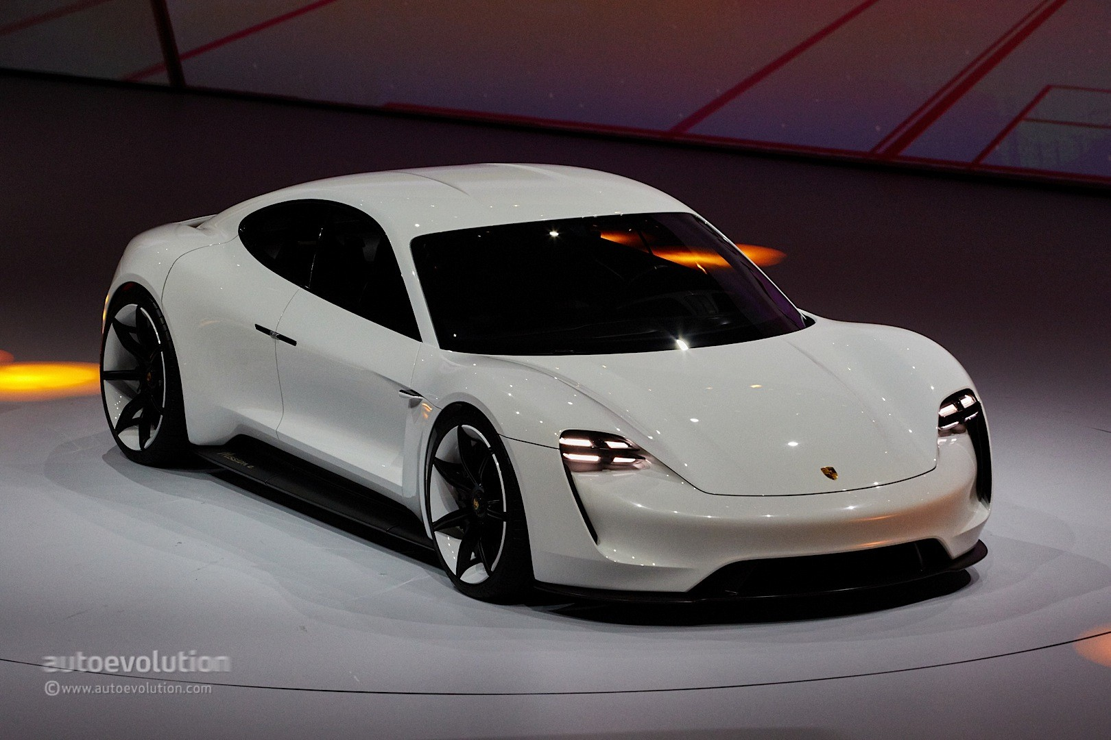 Porsche Wants Its Mission E Production Model To Mop The Floor With Tesla Engine Diagram Concept