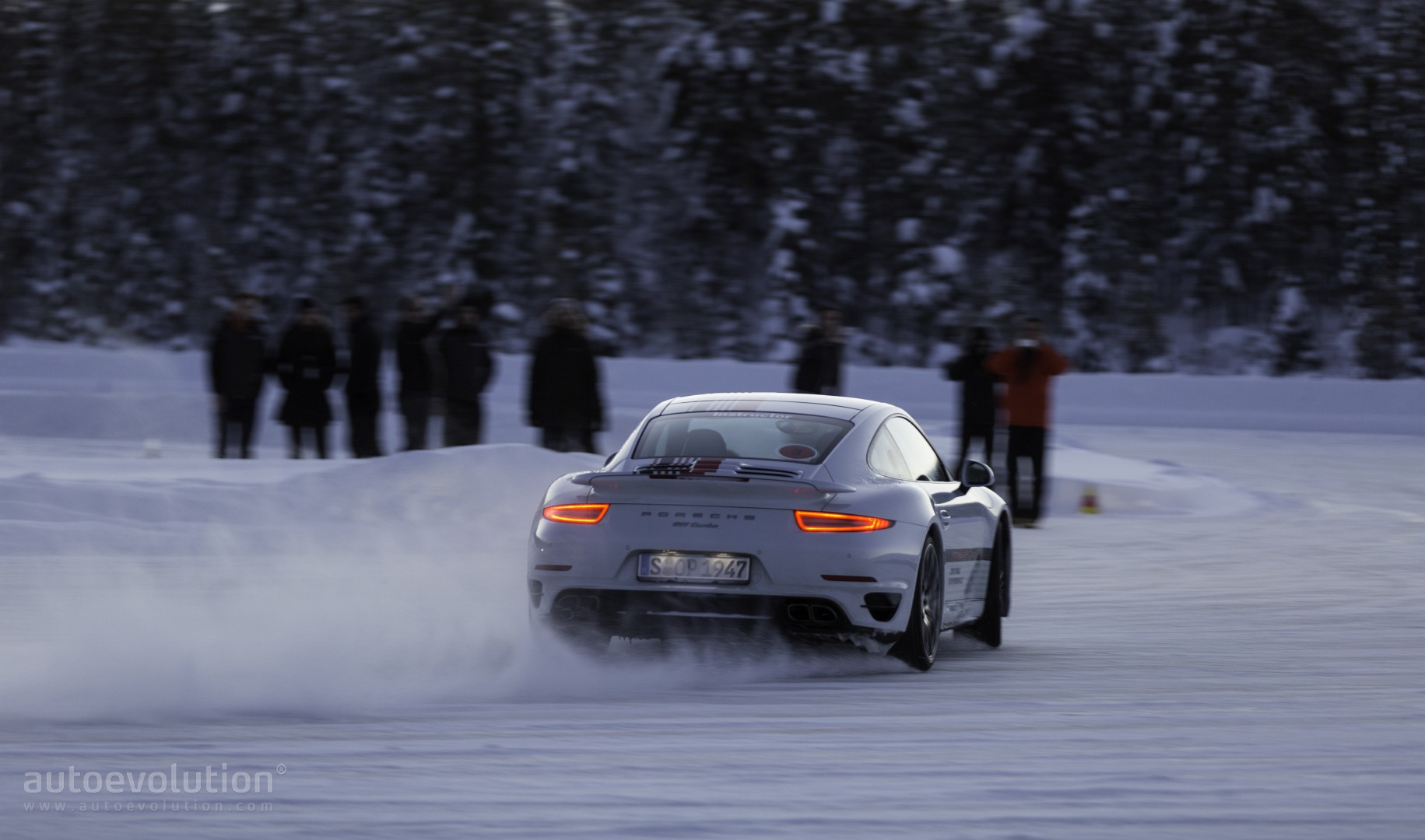 Porsche Winter Driving Experience May The Ice Force Be