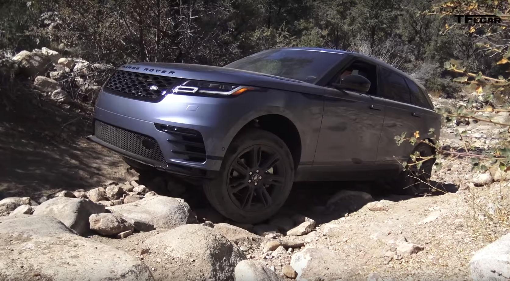 Posh 2018 Range Rover Velar Goes Off-Roading to Prove It's ...