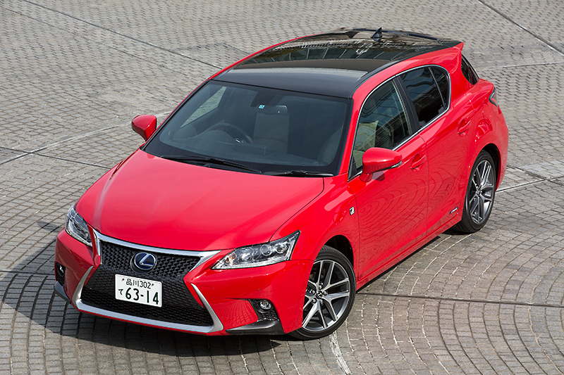 posh car for ladies lexus ct 200h f sport redline autoevolution. Black Bedroom Furniture Sets. Home Design Ideas
