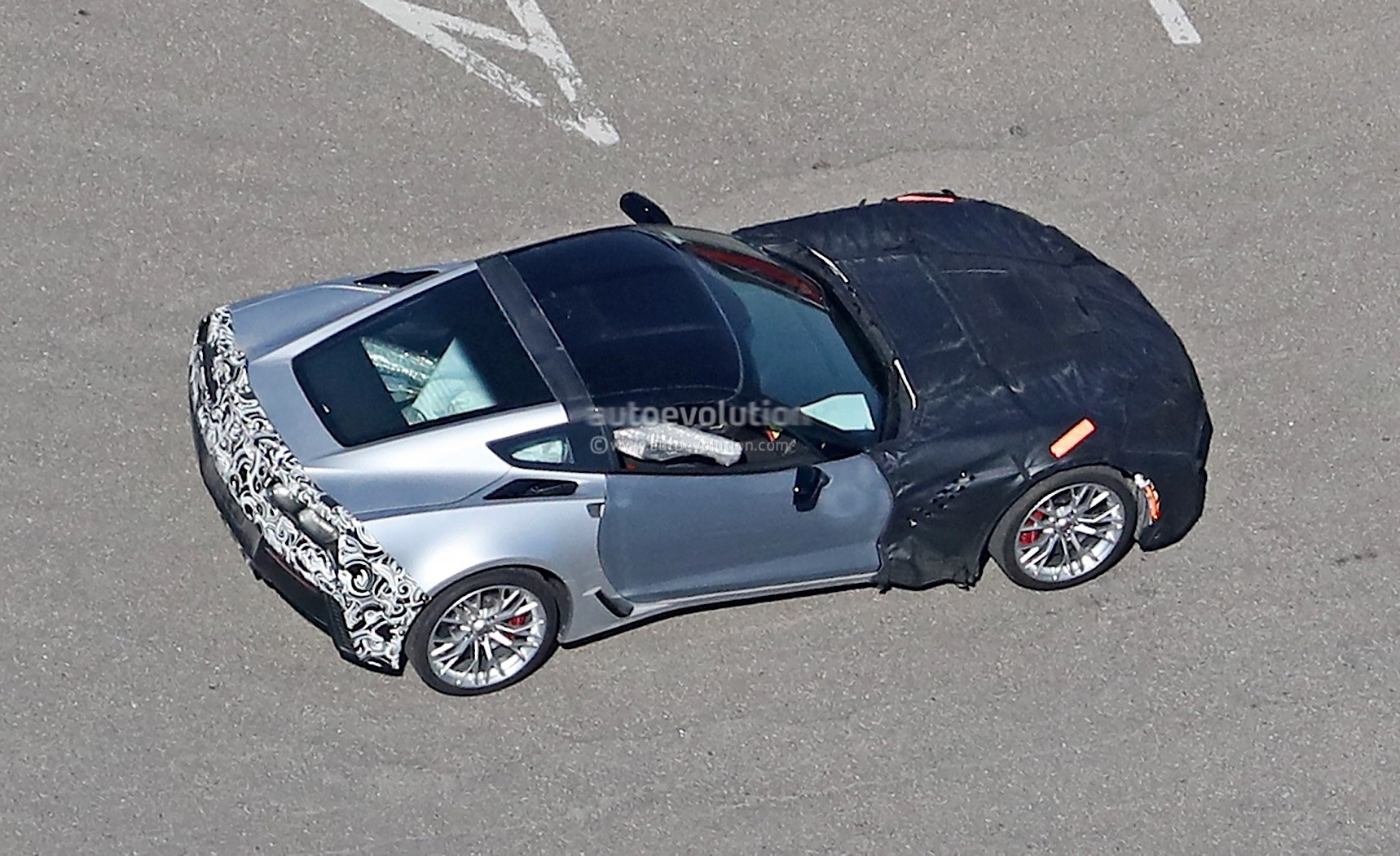 Possible 2018 Chevrolet Corvette Zr1 Prototype Spied From
