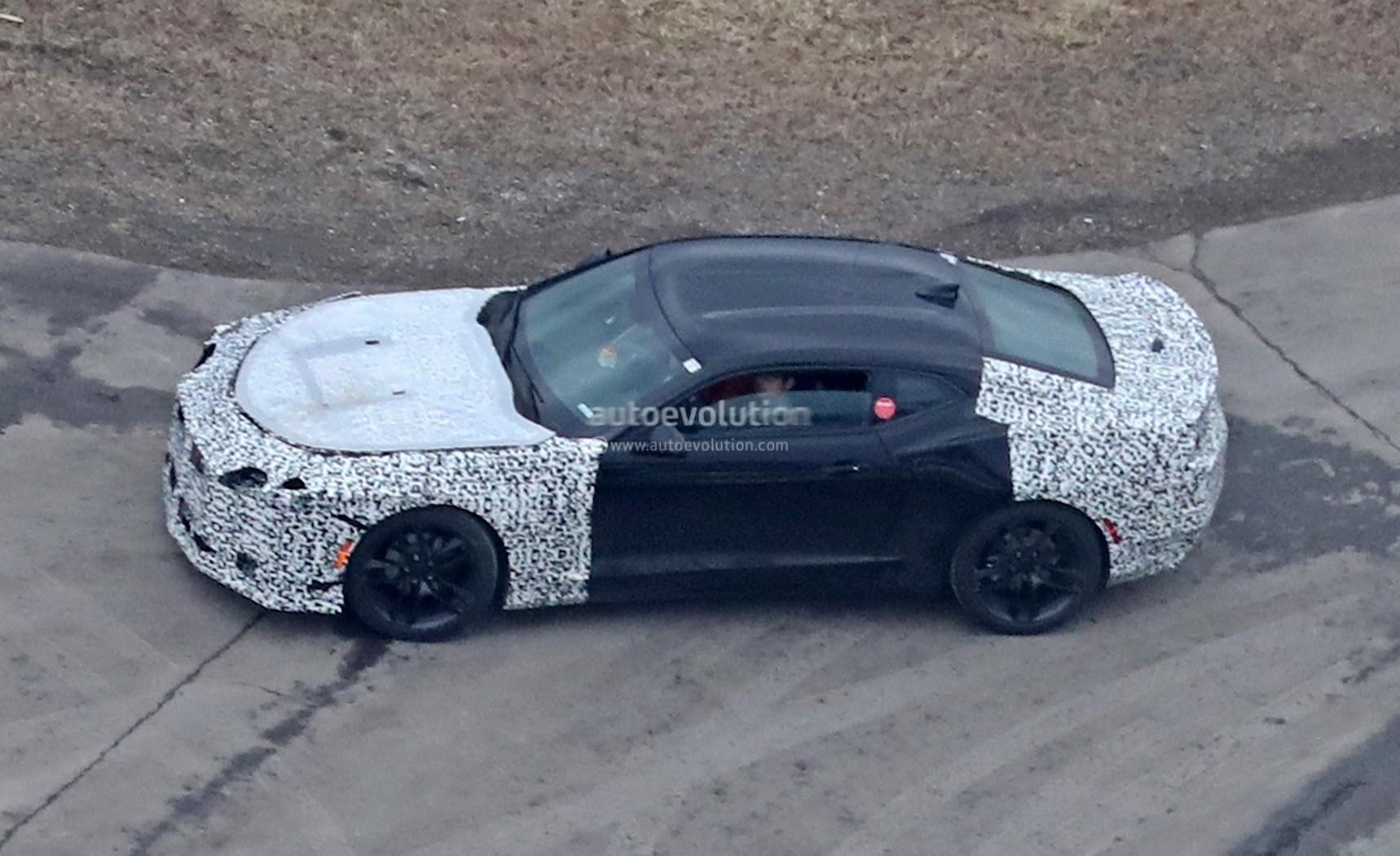Possible 2019 Chevrolet Camaro Z 28 Prototype Caught On