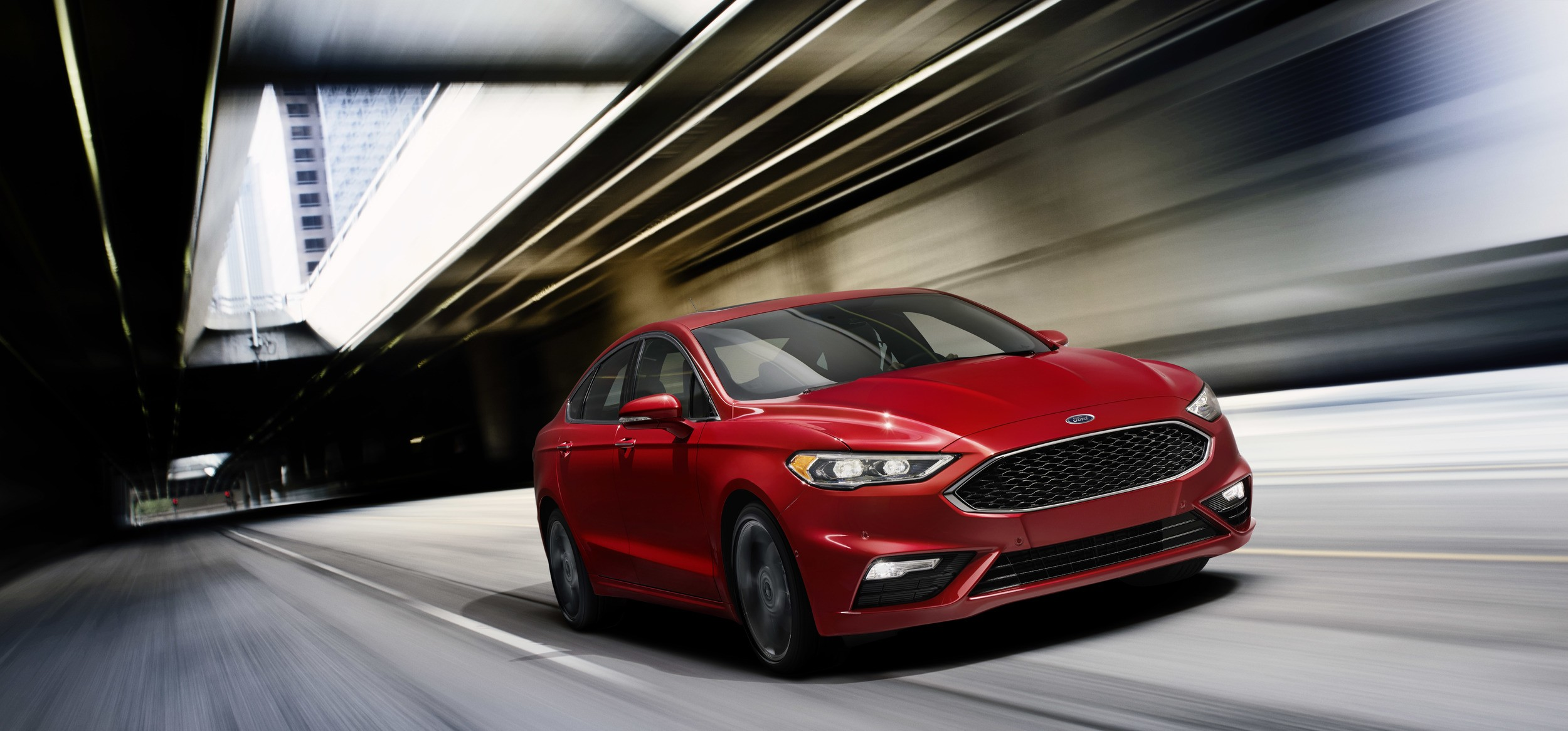 Pothole Mitigation Technology Arrives This Summer On The Ford Fusion Hp Ken V6 2017 Sport