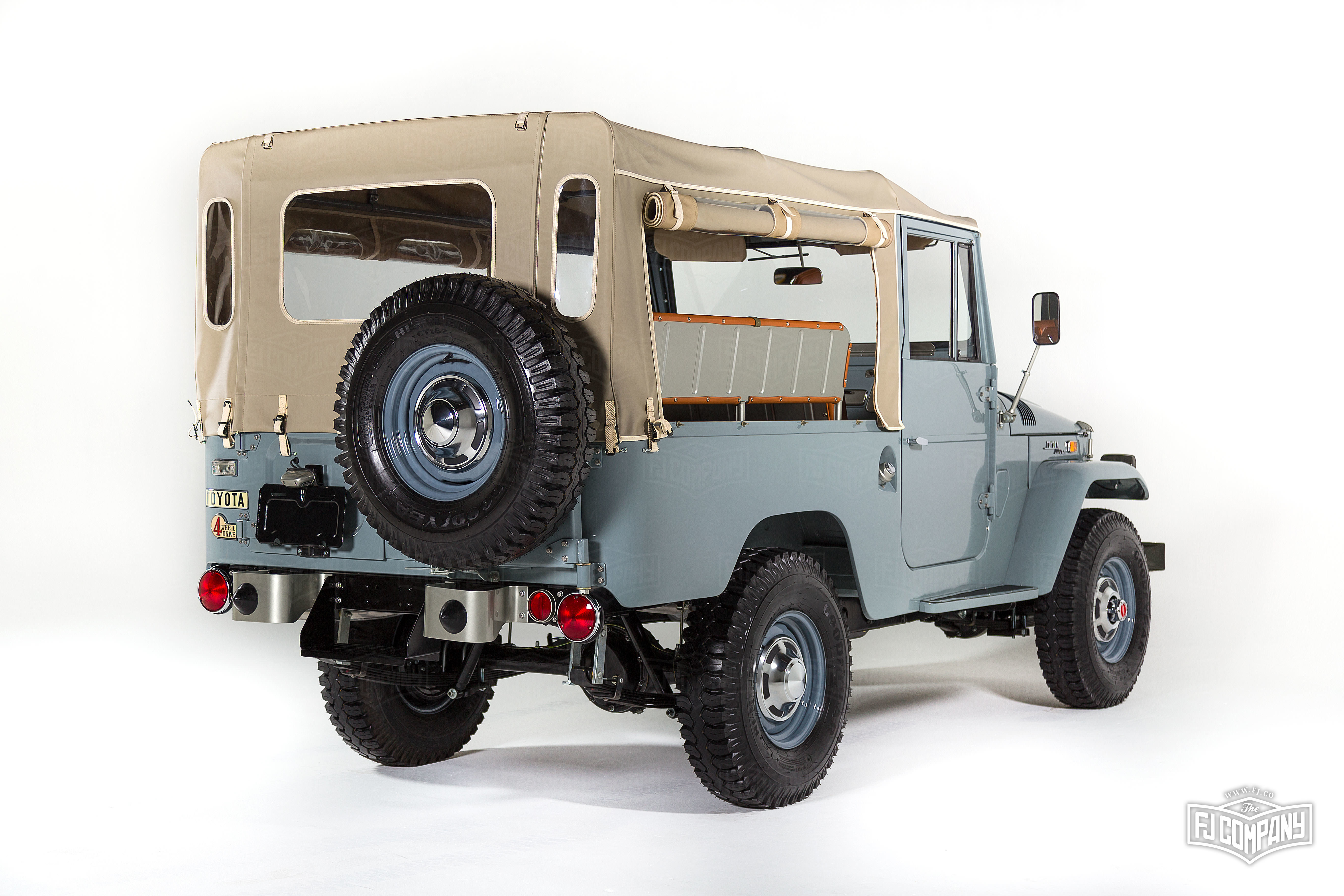 Priest Owned Toyota Land Cruiser Fj Fetches At Auction on Vintage Toyota Land Cruiser