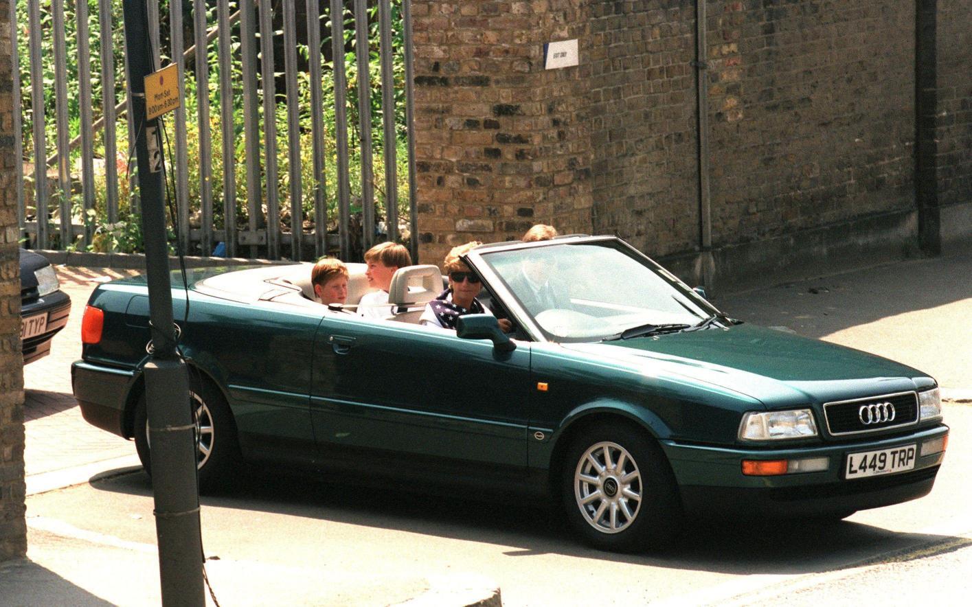 Princess Diana's Audi Quattro For Sale - autoevolution