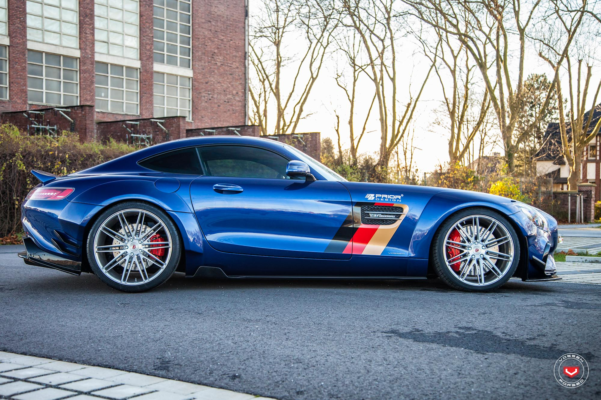 Prior Design Mercedes-AMG GT S Gets Vossen Wheels ...
