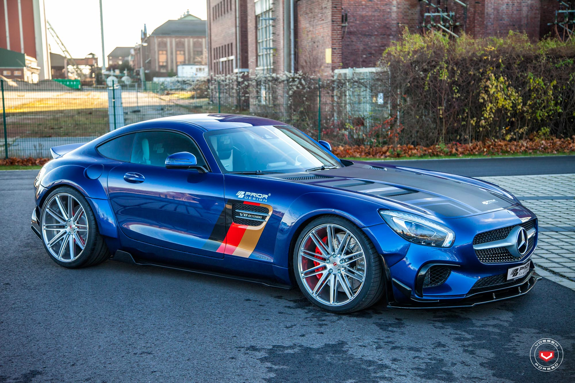 Prior Design Mercedes Amg Gt S Gets Vossen Wheels