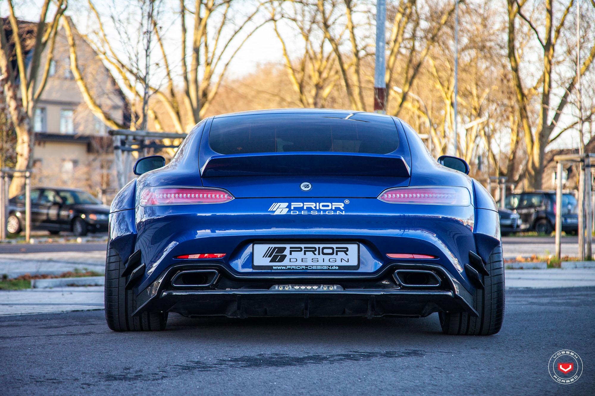 Prior Design Mercedes Amg Gt S Gets Vossen Wheels