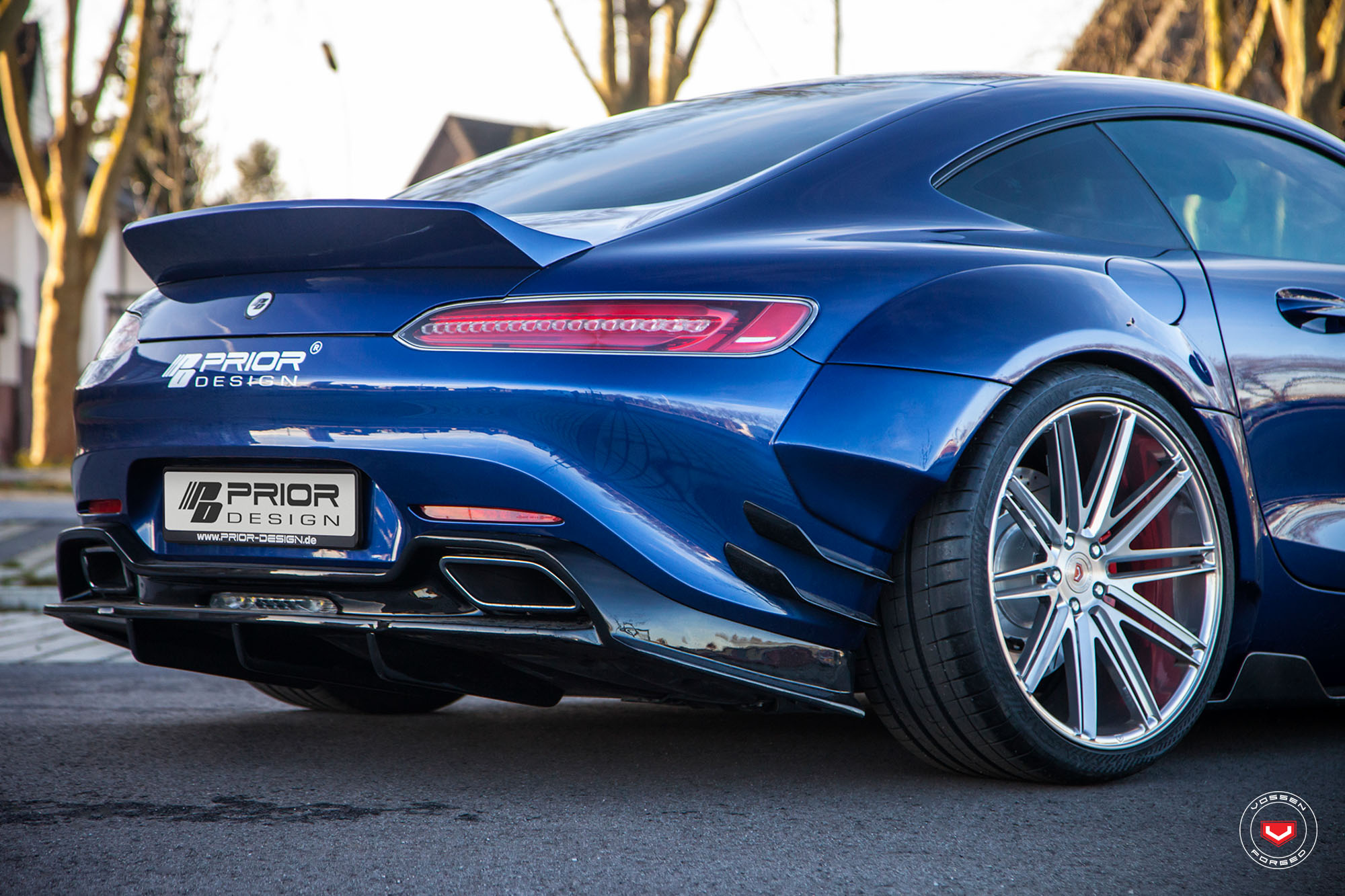 Mercedes Benz Amg Gt >> Prior Design Mercedes-AMG GT S Gets Vossen Wheels - autoevolution