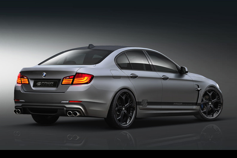 prior design previews bmw 5 series tuning pack autoevolution. Black Bedroom Furniture Sets. Home Design Ideas
