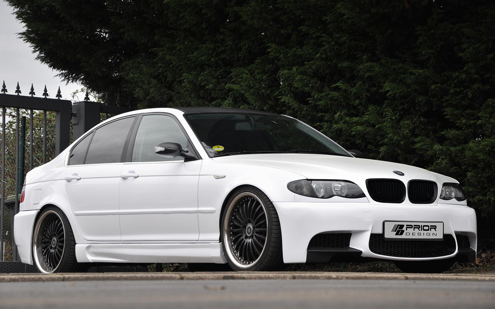 Prior design 39 s kit brings bmw e90 m3 bumpers to e46 sedans autoevolution