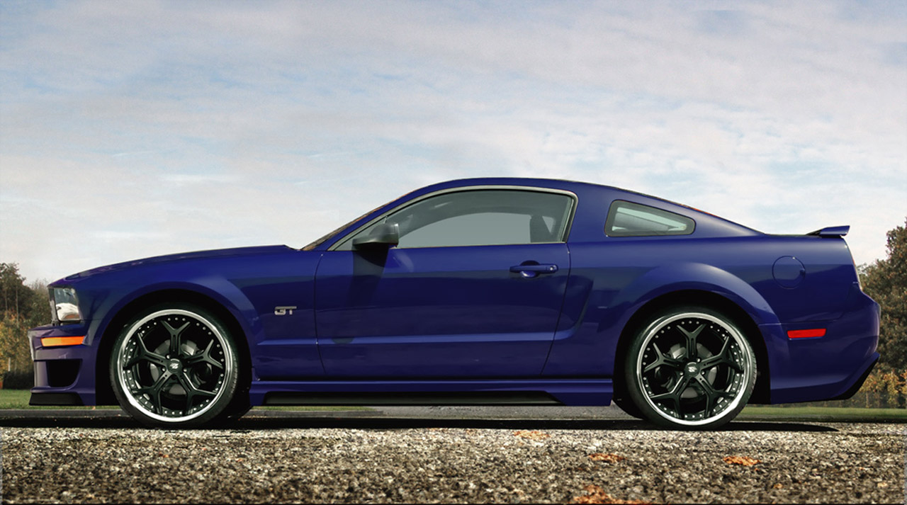 prior design tunes the 5th generation ford mustang autoevolution. Black Bedroom Furniture Sets. Home Design Ideas