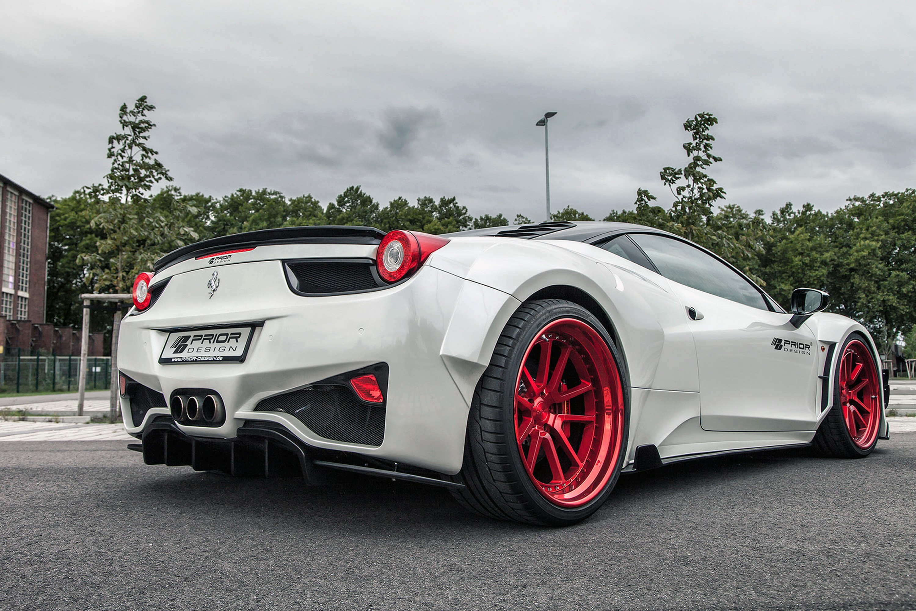 ferrari italia widebody. Prior Design Unveils Ferrari 458 Widebody Kit Italia 0