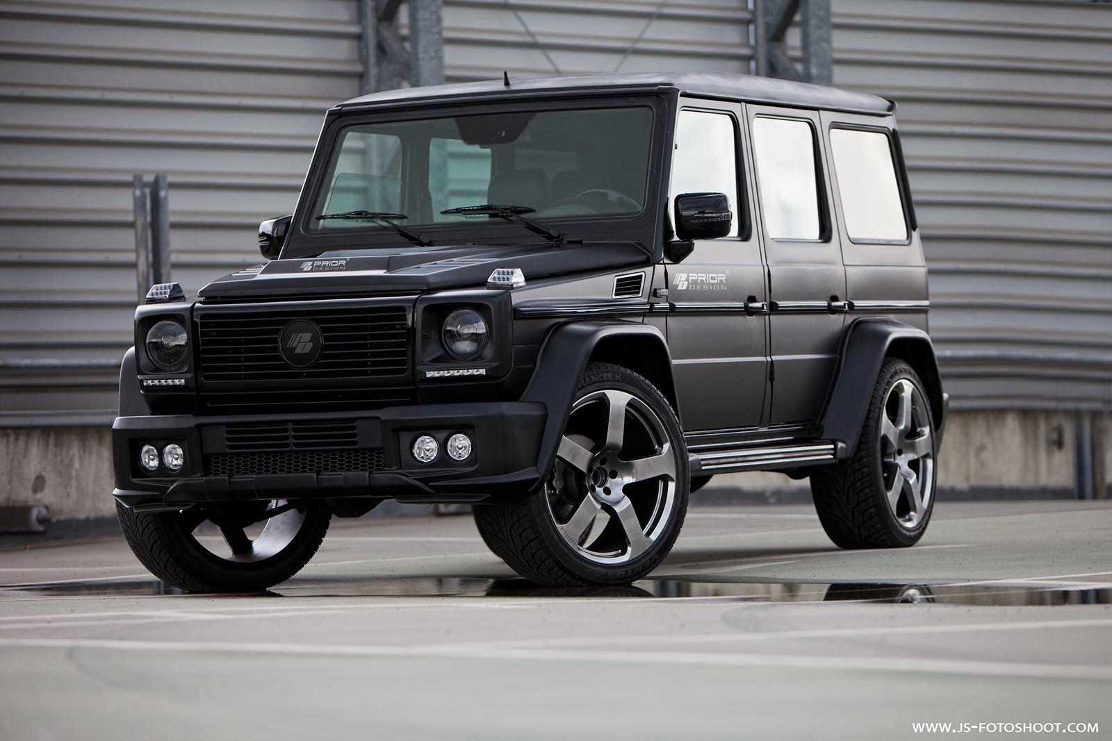 prior design unveils g class wide bodykit autoevolution. Black Bedroom Furniture Sets. Home Design Ideas
