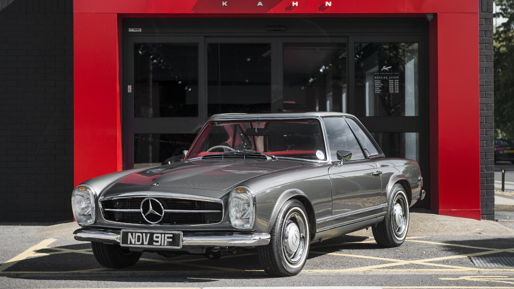 Pristine Mercedes 250 Sl Pagoda Offered For Sale By Kahn