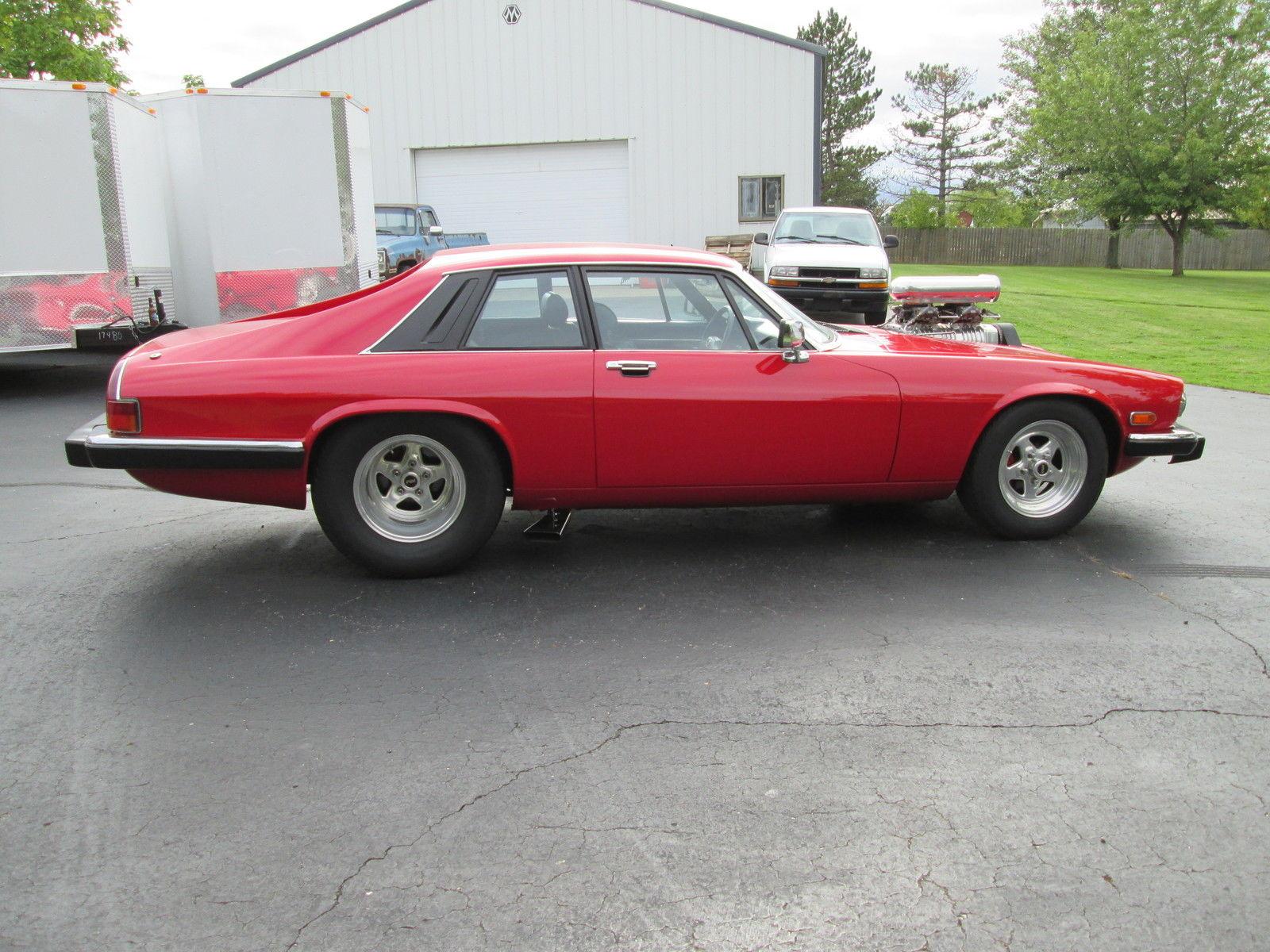 pro street blown 383 chevy stroker jaguar xjs 1983 coupe