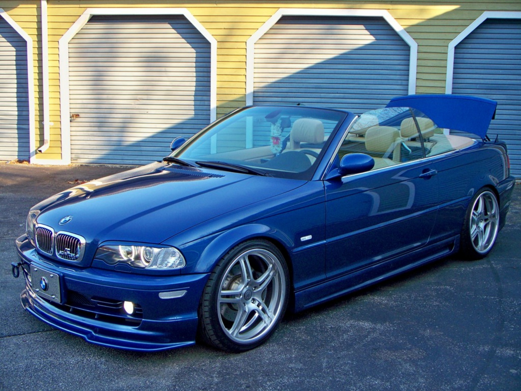 probably not a future classic: tuned bmw e46 330i convertible