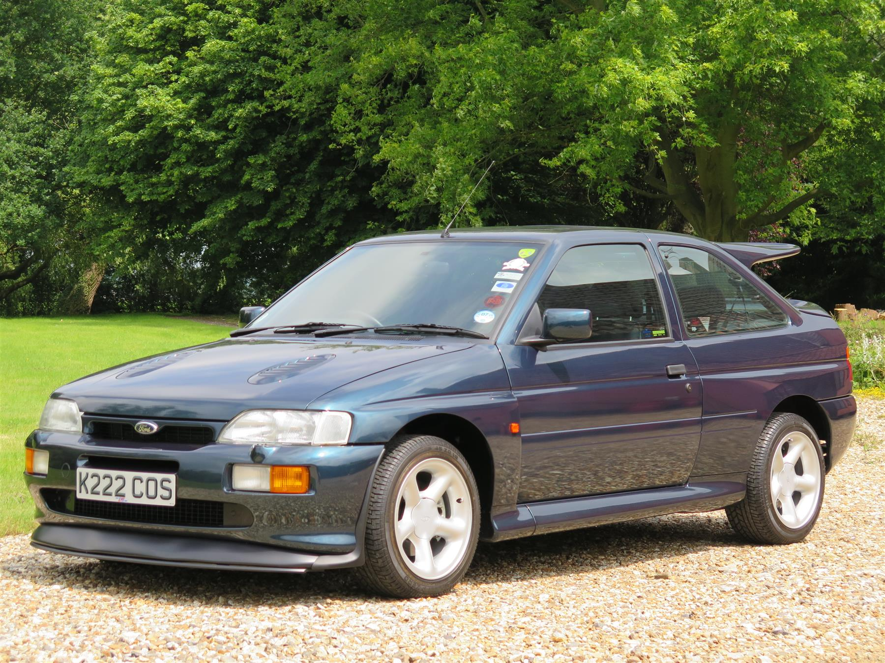 Is This the Best Ford Escort Cosworth In the World? - autoevolution
