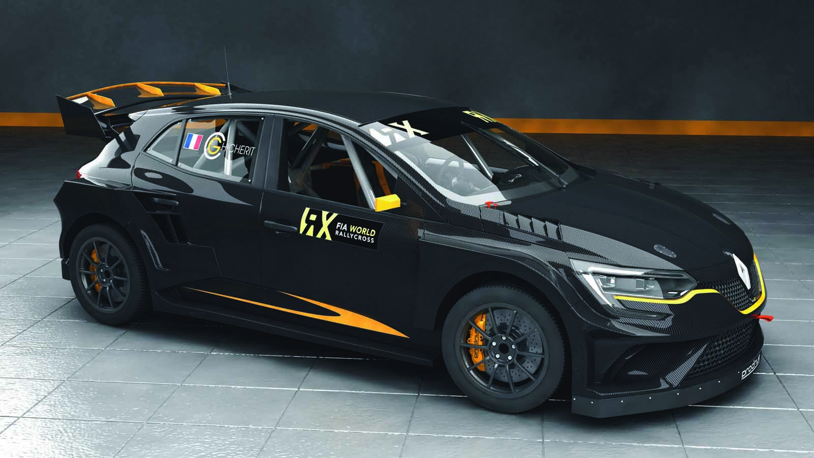 prodrive 39 s renault megane rx is a rallycross supercar autoevolution. Black Bedroom Furniture Sets. Home Design Ideas