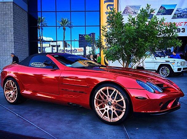 Producer Michael Blakey Gets Custom On His Mercedes Slr